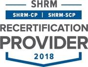 SHRM Recertification Seal 2018
